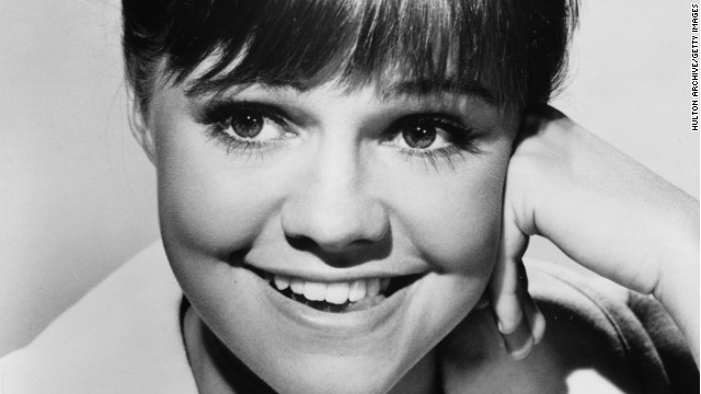 "Sally Field's 1965 studio head shot for ""Gidget"""