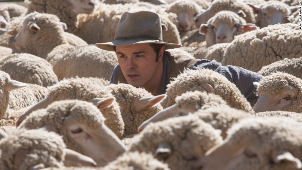 "Seth MacFarlane has his first starring role as an actor in the film ""A Million Ways to Die in the West,"" a film he also directed and co-wrote with ""Family Guy"" alums Alec Sulkin and Wellesley Wild."