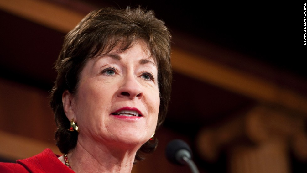 Sen. Susan Collins, R-Maine, is a veteran lawmaker and a moderate Republican. She is not considered by political analysts as a top-tier potential presidential contender.