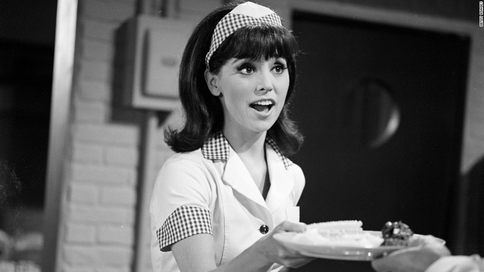 "Marlo Thomas plays Ann Marie in an episode of the '60s sitcom ""That Girl,"" portraying a single woman who moves to New York to make it big as an actress."