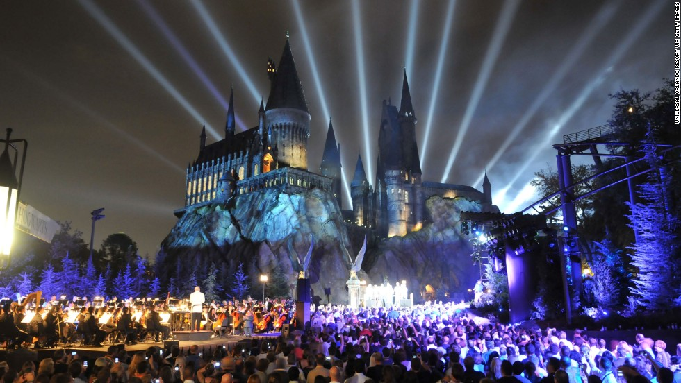 16. Universal Studios at Universal Orlando in Florida is abuzz with additions to the Wizarding World of Harry Potter, shown here in 2010.