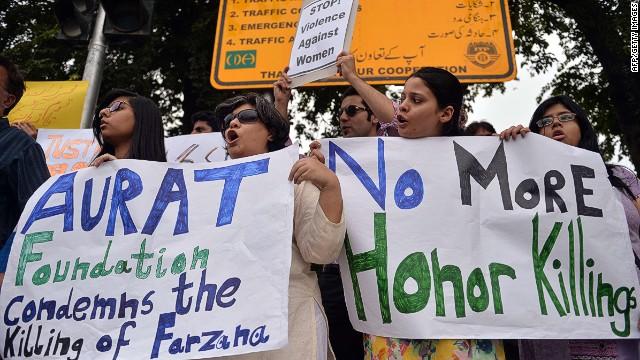 Fighting honor killings in Muslim world