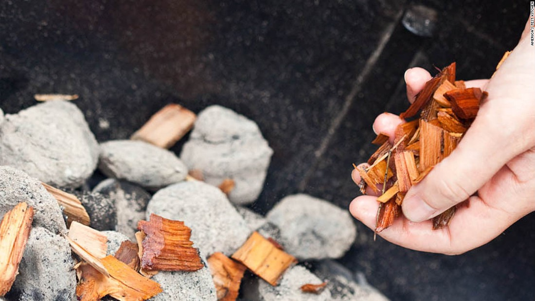 For killer ribs, you don't need a giant, pro-style smoker. All it takes is a grill, some wood chips, and a disposable roasting pan filled with water to convert a into a makeshift smoker.