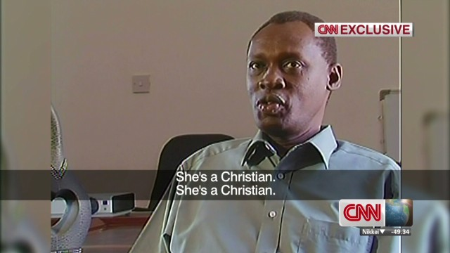 Exclusive: Sudanese woman's husband
