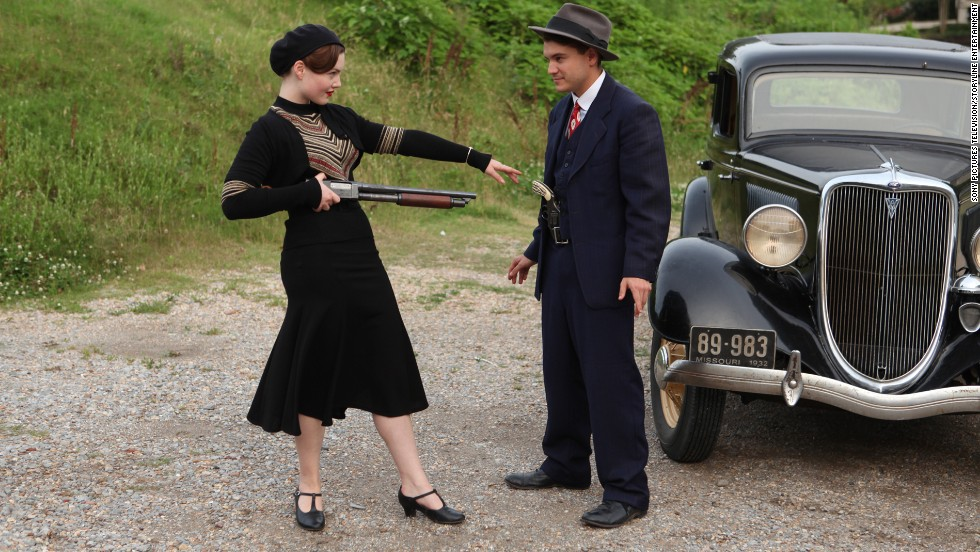 "<strong>""Bonnie and Clyde"" (2013</strong>) - Now is your chance to catch this TV miniseries if you missed it first time around.  Holliday Grainger and Emile Hirsch star in the title roles. (Netflix)"