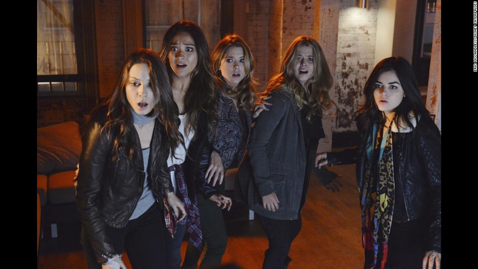 "<strong>""Pretty Little Liars: Season 4"" (2013) </strong>-  Troian Bellisario, Sasha Pieterse, Lucy Hale, Ashley Benson and Shay Mitchell are out for answers in season 4 of this TV series. (Netflix)"