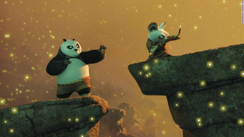 "<strong> ""Kung Fu Panda"" 2008 </strong>- An all-star cast including Jack Black and Angelina Jolie give voice to the characters in this animated action film. (Amazon)"
