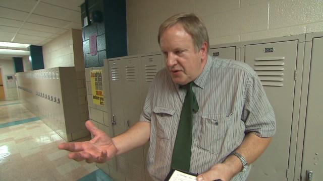 Teacher to boss: 'Have you no shame?'