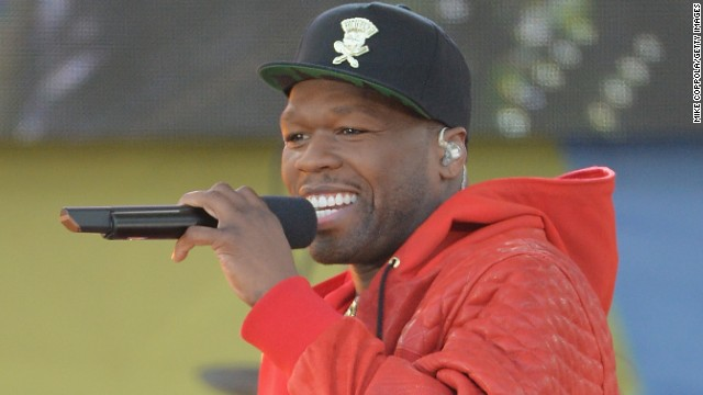 Curtis '50 Cent' Jackson performs at Rumsey Playfield on May 30, 2014 in New York City.