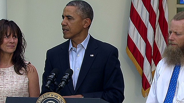 Obama address Sgt. Bergdahl release