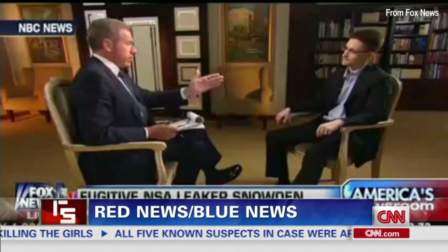 Red News/Blue News: Edward Snowden