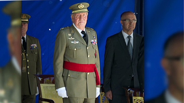 Spain's King Juan Carlos: I quit
