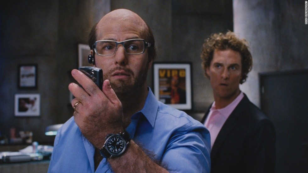 "Some people couldn't even believe that this was Tom Cruise with his bald head and bulging belly in ""Tropic Thunder"" in 2008."