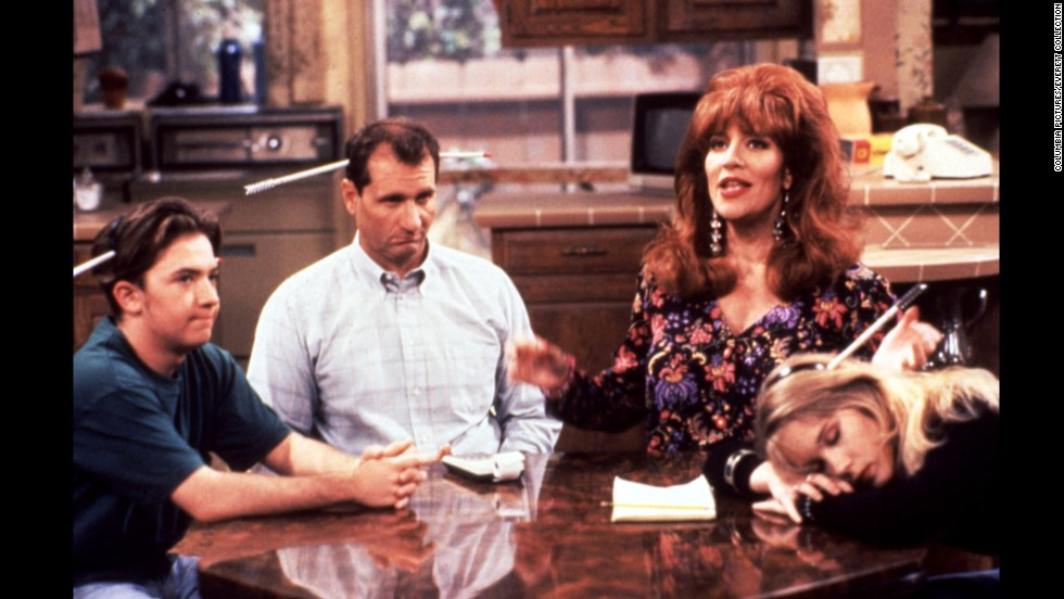 "David Faustino, Ed O'Neill, Katey Sagal and Christina Applegate starred in the television series ""Married With Children,"" which ran from 1987 to 1997."
