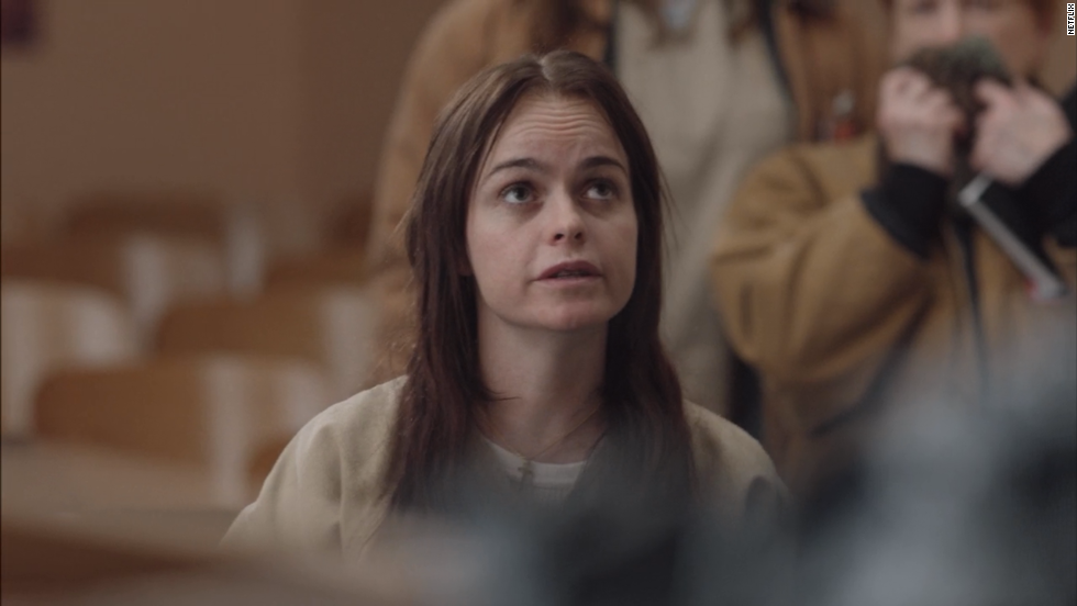 "Tiffany ""Pennsatucky"" Doggett (Taryn Manning) is a meth-addicted born-again Christian who is not above attacking fellow inmates, including Piper. In season two she becomes less devout."