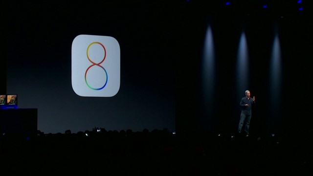 Apple unveils iOS 8