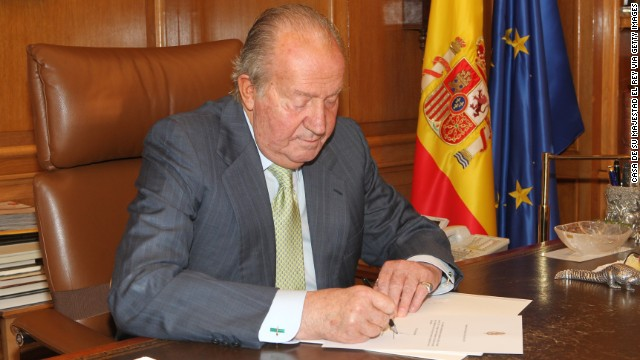 Former Greek king on Spain's Juan Carlos