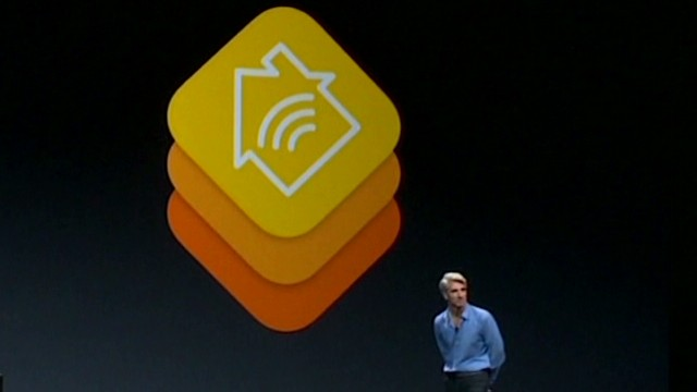 Apple unveils phone-controlled 'homekit'