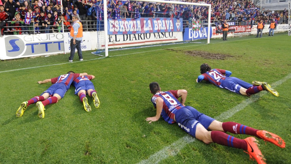 Eibar is only in the top tier thanks to a share issue that helped raise €1.7 million ($2.3 million) after it won the second division title. The financial rules that govern the top two leagues in the country decree every team must have a capital equal to 25% of the average expenses of all sides in the second division, excluding the two clubs with the biggest outgoings and the two with the smallest.