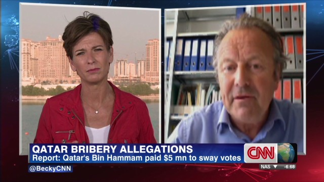 Qatar bribery allegations