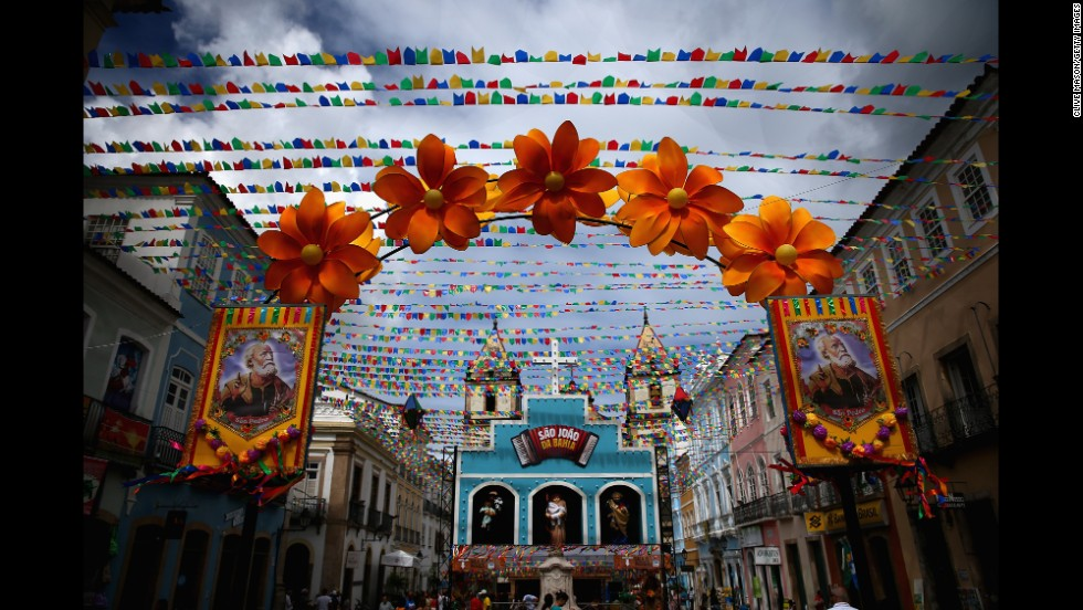 Salvador is the capital of the state of Bahia. Its tradition of music and festivals is one of the richest in the country.