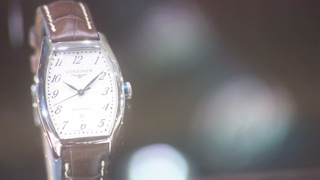 Luxury watch makers see growth in China