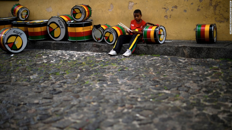 The beats never stop -- well, almost never -- in Bahia.