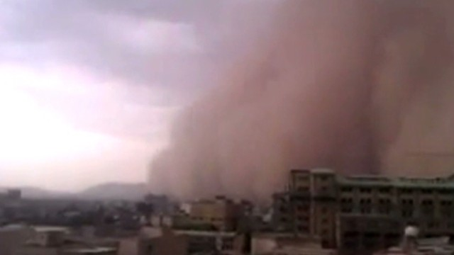 Freak dust storm kills five in Tehran