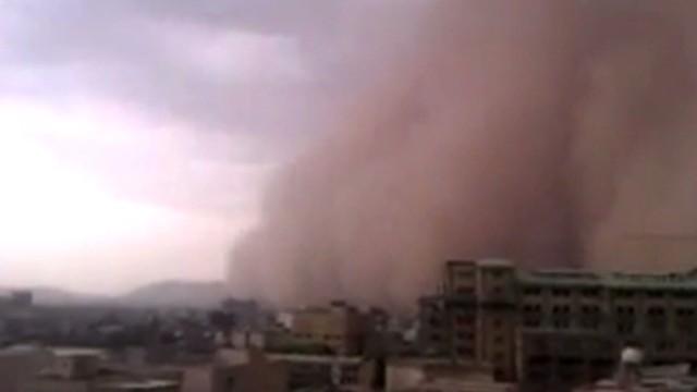 Freak dust storm kills five in Tehran