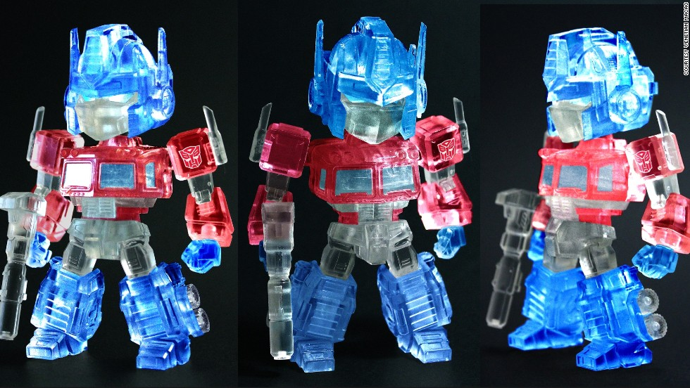 To celebrate the exhibit, a set of limited-edition figures were commissioned to be sold on site.