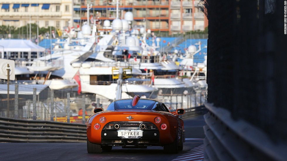 And because driving into Monaco just won't do, the trip culminates with a helicopter ride to the principality just time for the Grand Prix and dinner with F1 drivers.