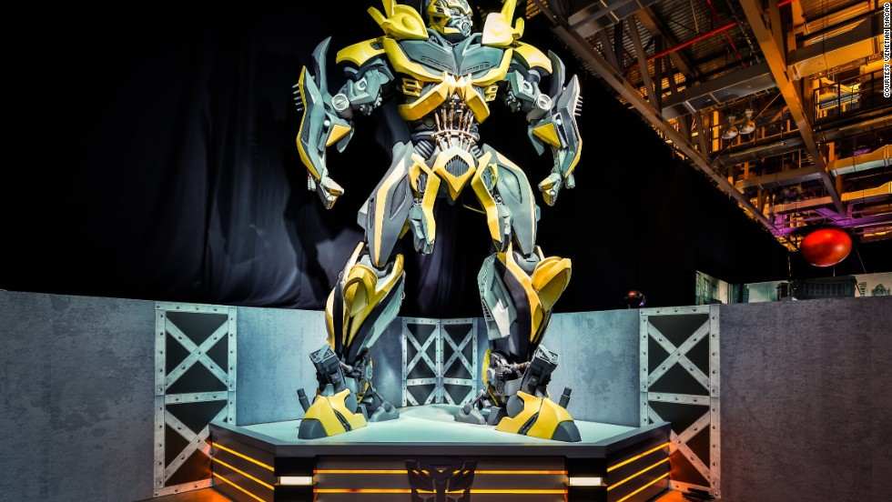 "China showcased its love affair with shape-shifting robots last year with the launch of the Transformers 30th Anniversary Expo. Seven-meter-tall statues of Bumblebee and Optimus Prime are featured. They're leading characters in the ""Transformers""  franchise. Don't pretend you didn't know that."