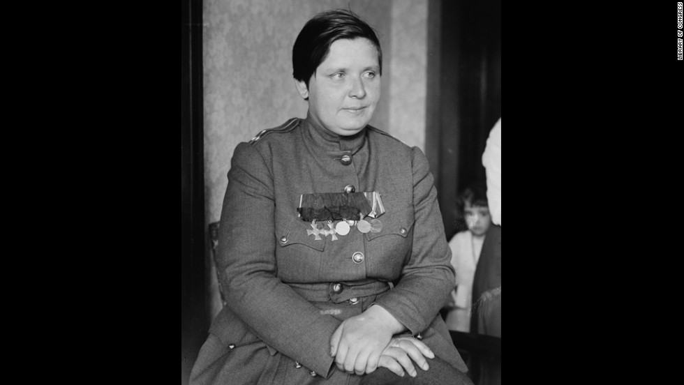 Maria Bochkareva, nicknamed Yashka, was a Russian soldier who in 1917 created the 1st Russian Women's Battalion of Death -- an all-female combat unit.