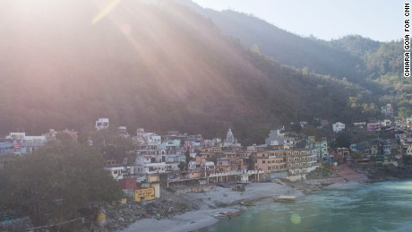 For use on CNN.com Rishikesh story only