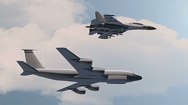 Russian jet dangerously buzzes U.S. jet