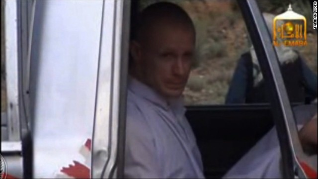 Video released of Bergdahl's transfer