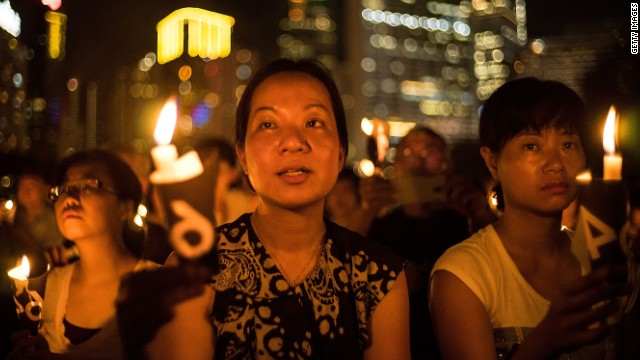 Tiananmen vigil: We will never forget