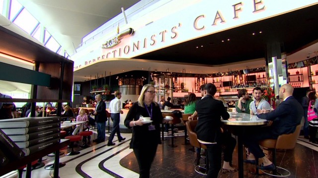 Chef opens new restaurant at Terminal 2