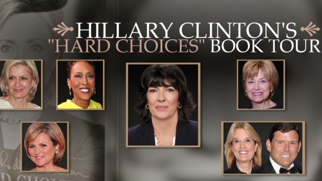 Ladies dominate Clinton media interviews