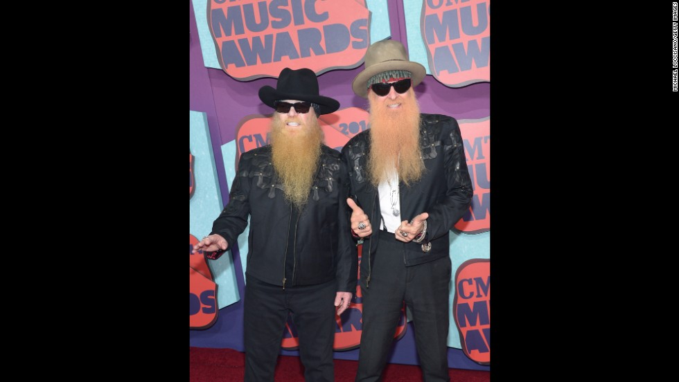 Dusty Hill, left, and Billy Gibbons of ZZ Top