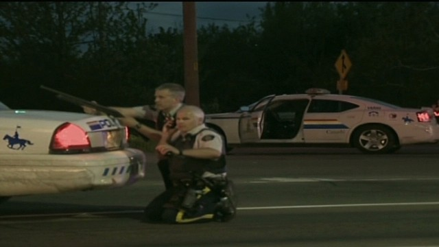 3 officers wounded in Canada shooting