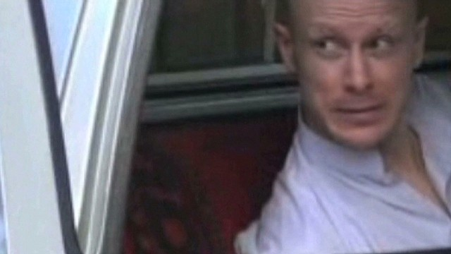 Is there a message in the Bergdahl video?