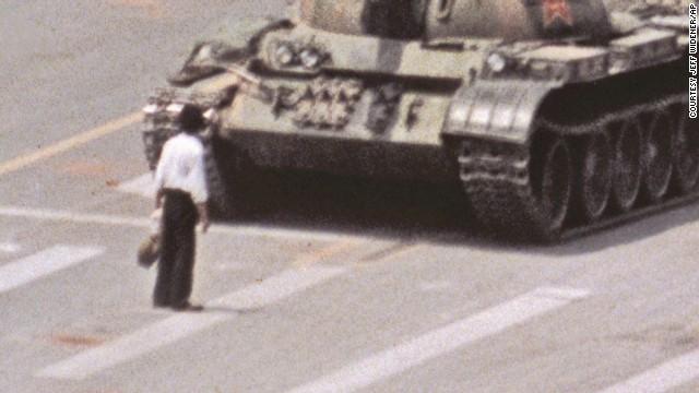 'Tank Man' photographer reflects