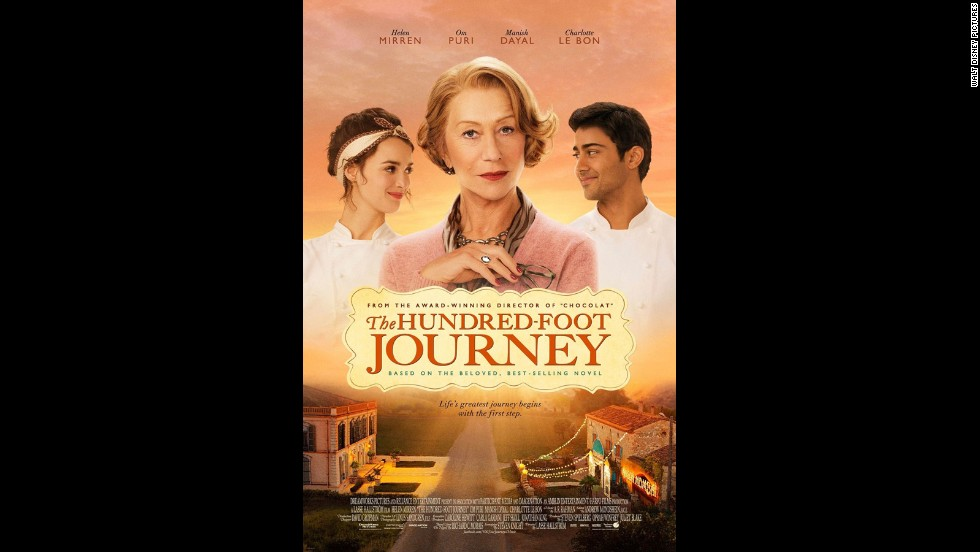 "<strong>""The Hundred-Foot Journey"" </strong>(August 8): Helen Mirren stars as eccentric French chef Madame Mallory, who competes with an Indian family that opens a restaurant close by. Oprah Winfrey produces."
