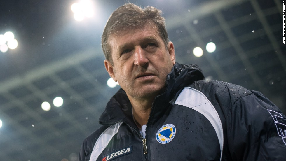 "Safet Susic has reportedly told his Bosnia-Herzegovina team that ""there will be no sex in Brazil."" The Bosnian coach  did add that he would allow his players to masturbate."