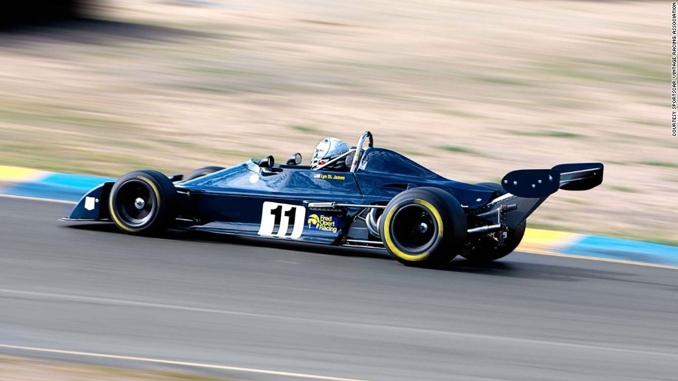 A Chevron B39 Formula Atlantic originally owned and raced by Formula B national champion Ken Duclos during the 1977 season. It is raced by owner Chris Locke and frequently guest-driven by Indianapolis 500 veteran Lyn St. James.