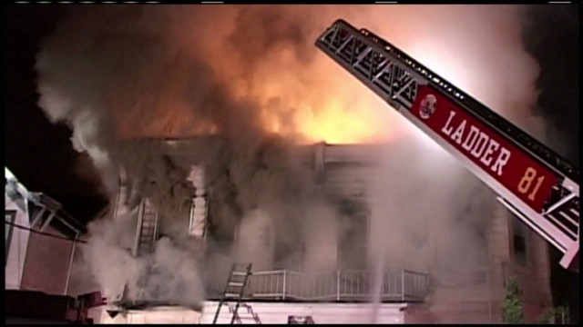 Dozens injured in Staten Island fire