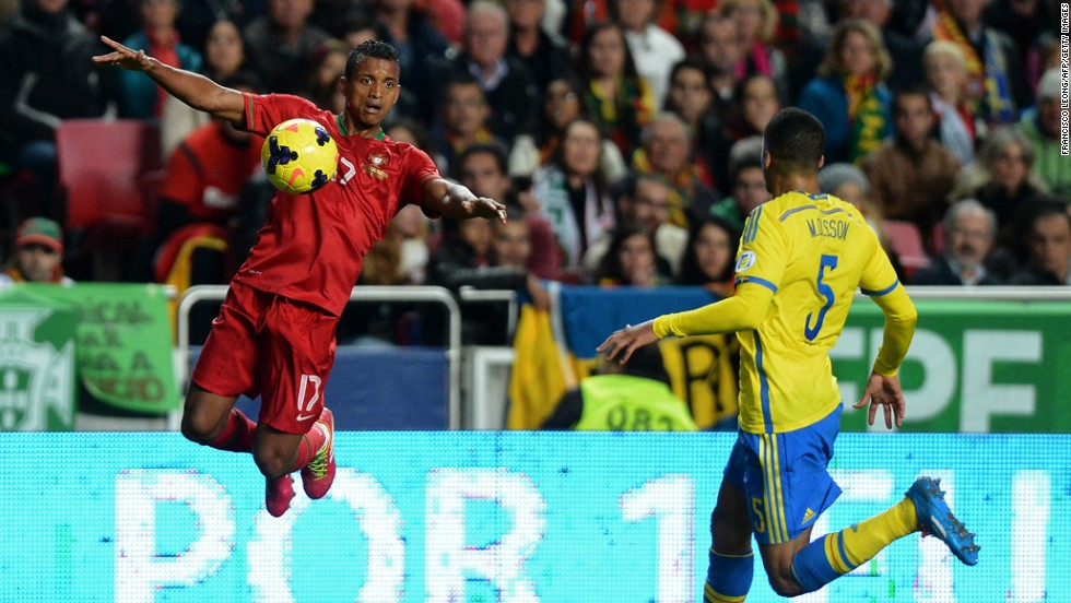 """<strong>Nani (Portugal):</strong> Yeah, yeah, we were supposed to pick Cristiano Ronaldo. But with a witch doctor <a href=""""http://bleacherreport.com/articles/2085908-ghanaian-witch-doctor-claims-to-have-caused-cristiano-ronaldos-world-cup-injury"""" target=""""_blank"""">tampering with CR7's leg</a>, Portugal could find itself needing some speed and creativity. Enter the Manchester United winger, whose international experience is second only to Ronaldo's. With Portugal's midfield being a relative weak spot, a lot will ride on Nani's performance. He'll need to improve on his club form of late if Portugal is to go deep."""
