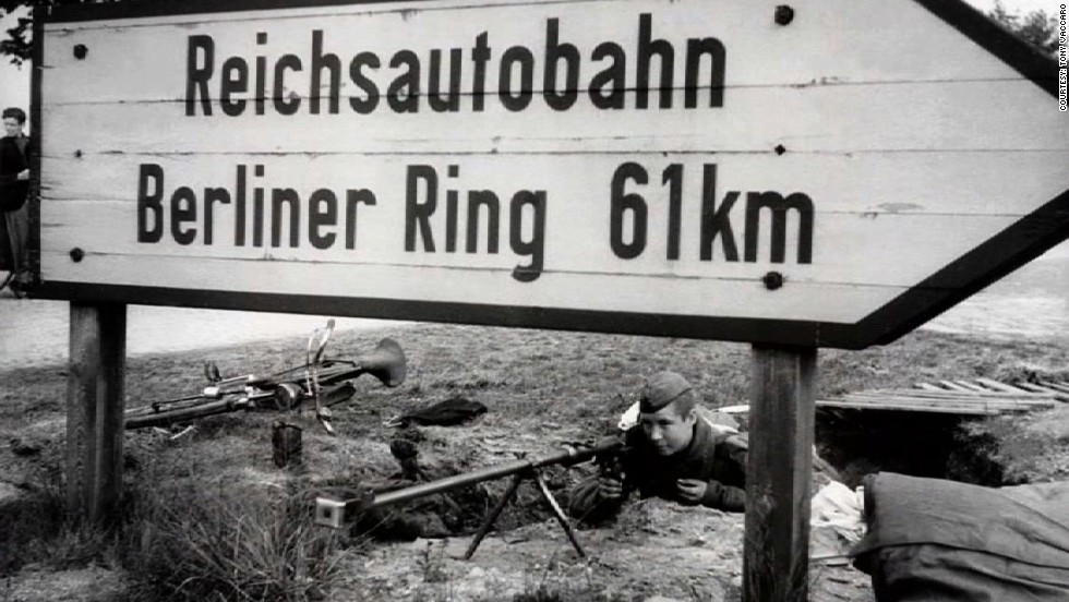 He took more than 8,000 photographs, following the progress of his unit from the beaches of Normandy to Berlin.