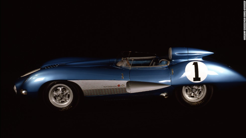 This 1957 SS Corvette is the only one of its kind in the world, according to event organizers. Race fans will get a chance to see it in action this weekend.